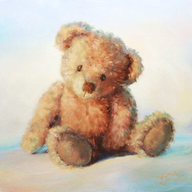 Teddy cute take me home art