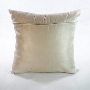 cushion back natural stone colour faux suede