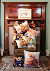 Fantastic teddy bear art cushions pillow gift