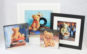 wall art collection teddy bear bruin